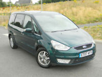 2007 07 REG FORD GALAXY 2.0TDCi ( 140ps ) GHIA WITH FULL LEATHER+SATNAV+PDC++