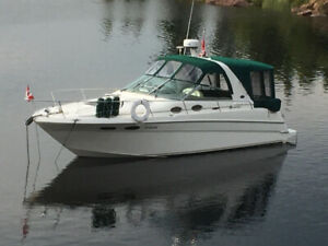 2001 Searay 290 Sundancer w trailer for sale - MINT and LOADED!