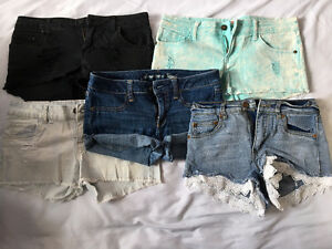 5 Pairs of Shorts for $15!