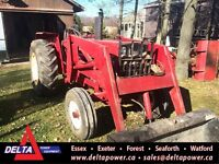 International 684 2WD Tractor with Loader