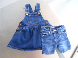 Levi's Girls 12-18 month lot