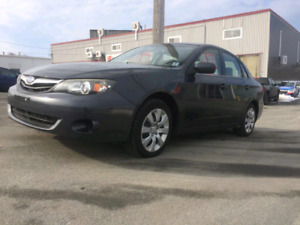 2.5 L 2011 Subaru Impreza 5 speed