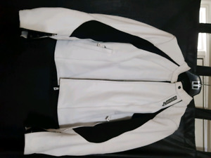 Womens Shift leather jacket with armour