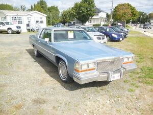 1981 Cadillac DeVille blue Coupe (2 door)