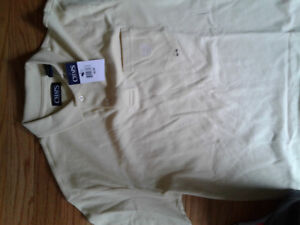 Men's New With Tag CHAPS Polo Shirt- medium
