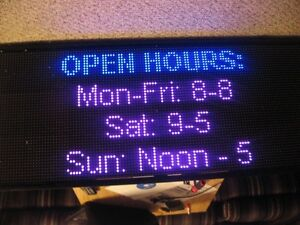 Led Window Signs