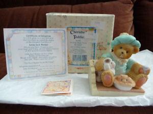 Cherished Teddies - Little Jack Horner (624780)