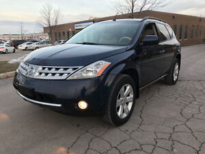 2006 NISSAN MURANO SL AWD Comes Safety And E-Tested