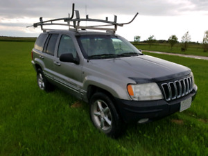2001 Jeep grand Cherokee  Limited for Project or Parts