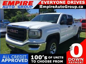 2016 GMC SIERRA 4WD * BACKUP CAMERA * BED LINER * BLUETOOTH * LO