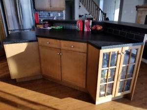 Kitchen Island with Extension - Excellent Condition!!!