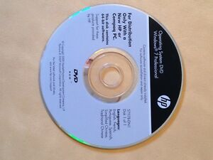 Windows 7 Professional DVD