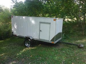 remorque. trailer. fermer homemade