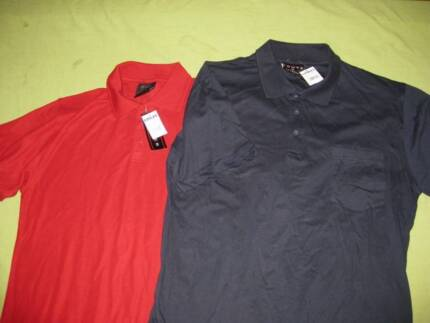 MENS8 BRAND NEW POLO SHIRTS SIZE M - $8 THE LOT