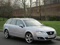 Seat Exeo 2.0TDI 143 ST SE Lux * FULL LEATHER + XENON'S + FSH *
