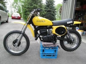 Wanted Suzuki Vintage MX bikes