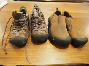 Keen Event hiking and Mocs Size 6 and 6.5