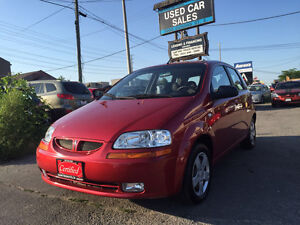 *LOW KMS*CERTIFIED*2006 Pontiac Wave HB AUTOMATIC