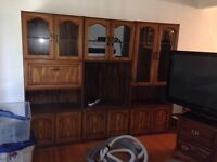 Wall unit. 3 separate pieces
