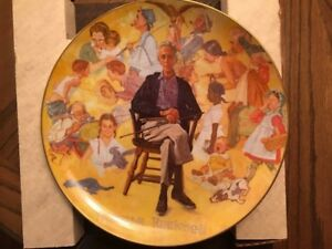 Vintage Normal Rockwell collector plates $25 each