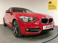 2014 14 BMW 1 SERIES 1.6 116I SPORT 5D AUTO 135 BHP