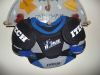 ITECH Hockey shoulder, chest, spine protector