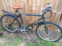 """Men's 20"""" bicycle. Inc new seat, new lights & mudguards. Free delivery. D lock available"""