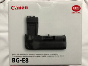 BG-E8 Battery Grip for Canon EOS DSLR Camera - NEW - $130