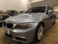BMW 3 SERIES 318D M SPORT Blue Manual Diesel, 2009