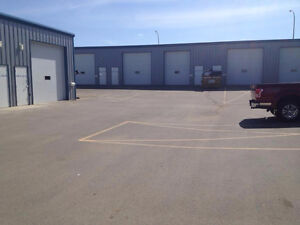 Bays for Rent in this fairly new complex in Prince Albert, SK