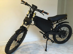 2016Latest Fastest Super E-bike! Stealth Bomber Electric bicycle