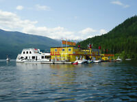 Looking for Part Time and Full Time Servers on the Shuswap Lake
