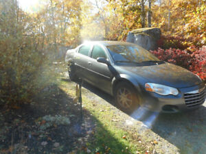 2004 Chrysler Sebring, $2450 or best offer