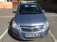 VAUXHALL ZAFIRA 1.6 ONLY 41000 MILEAGE 7 SEATER