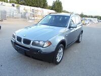 2005 BMW X3 AWD 161000KMS Great Condition 2.5i
