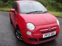 2013 13 FIAT 500 1.2 S DUALOGIC 3D AUTO 69 BHP ** AUTOMATIC , LOCAL CAR **
