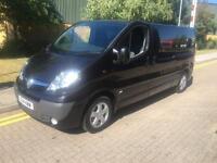 2014 Vauxhall VIVARO 2.0CDTi 115ps Sportive 2900 EU V Black LWB Panel Van Manual