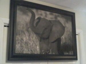 Baby Elephant Painting