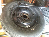 FORD FUSION SNOW TIRES AND RIMS 205/60/16