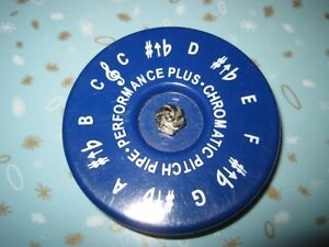 Performance Plus CP-C Vocal Chromatic Pitch Pipe Key of C to C
