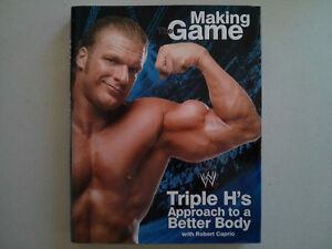 WWE WWF book HHH Making the Game $5