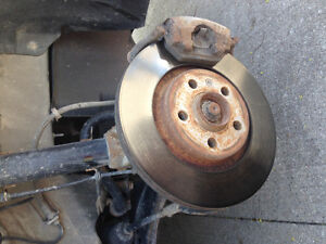 Vw Jetta city rotors (little rusty)