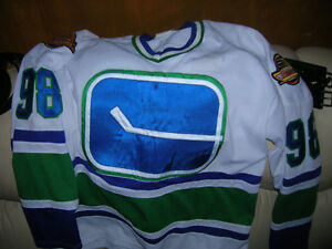 Vancouver Canucks Hockey Team Jersey Vintage CCM Rare Various