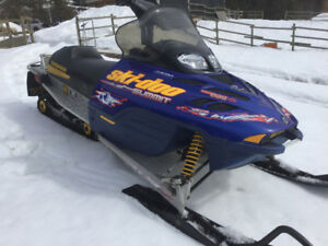 2003 skidoo summit 800 with low kms