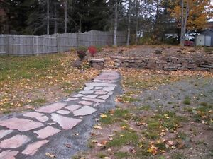 Flagstone for your pool-deck, patio, walkways, stairs, & walls