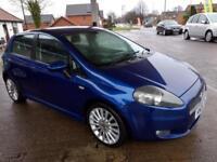 2009 Fiat Grande Punto 1.9 Multijet 130 Diesel Sporting/LOW MILES 84k/ FULL MOT