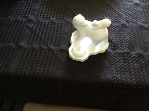 Party light Polar Bear & Cub Tealight Candle Holder