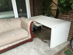Some furniture, couch, matress, table chairs for free Cambridge Kitchener Area image 8