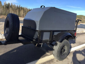 Lightweight motorcycle/small car trailer. $1050 or trade.