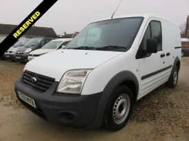 2011 61 FORD TRANSIT CONNECT 1.8 TDCI T200 SWB LOW ROOF 90 BHP 62420 MILES DIESE